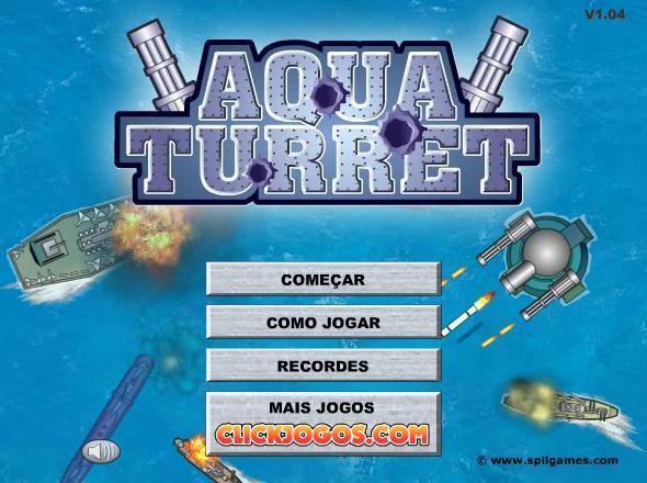 Jogo em Flash Aqua Turret