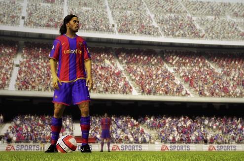 Imagem do jogo Fifa Soccer 09