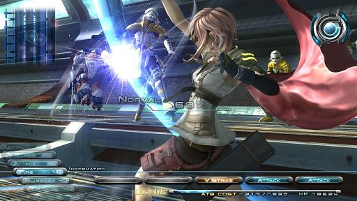 Final Fantasy XIII - cena de uma batalha