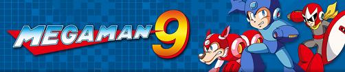 Logotipo do jogo Mega Man 9