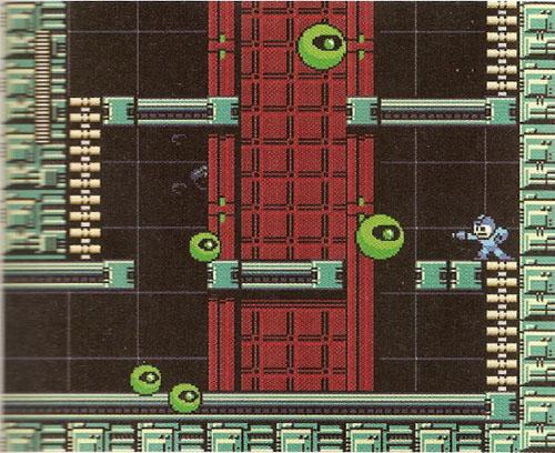 Tela do jogo Mega Man 9