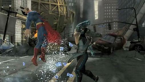 Tela do jogo Mortal Kombat vs DC Universe