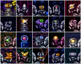 Super Metroid Power ups