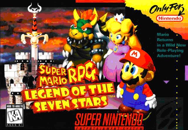 Capa do jogo Super Mario RPG