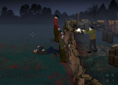 Tela do jogo The Last Stand