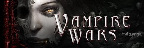 Vampire Wars - Um dos vários jogos participantes do Facebook