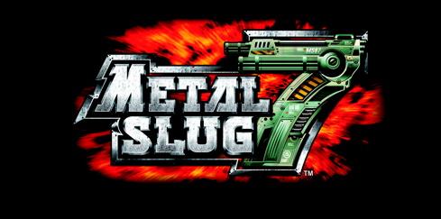 Logotipo do jogo Metal Slug 7