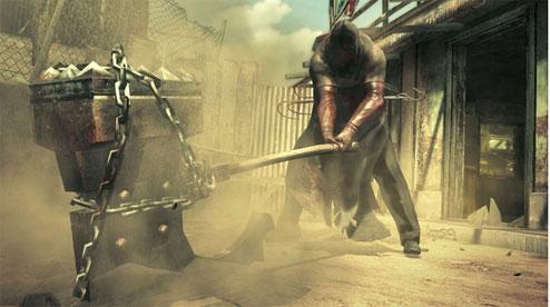 Tela do jogo Resident Evil 5