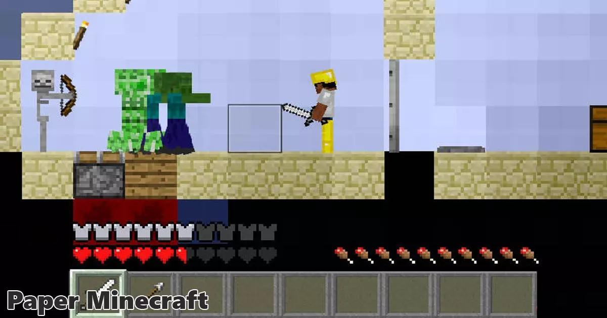Paper Minecraft